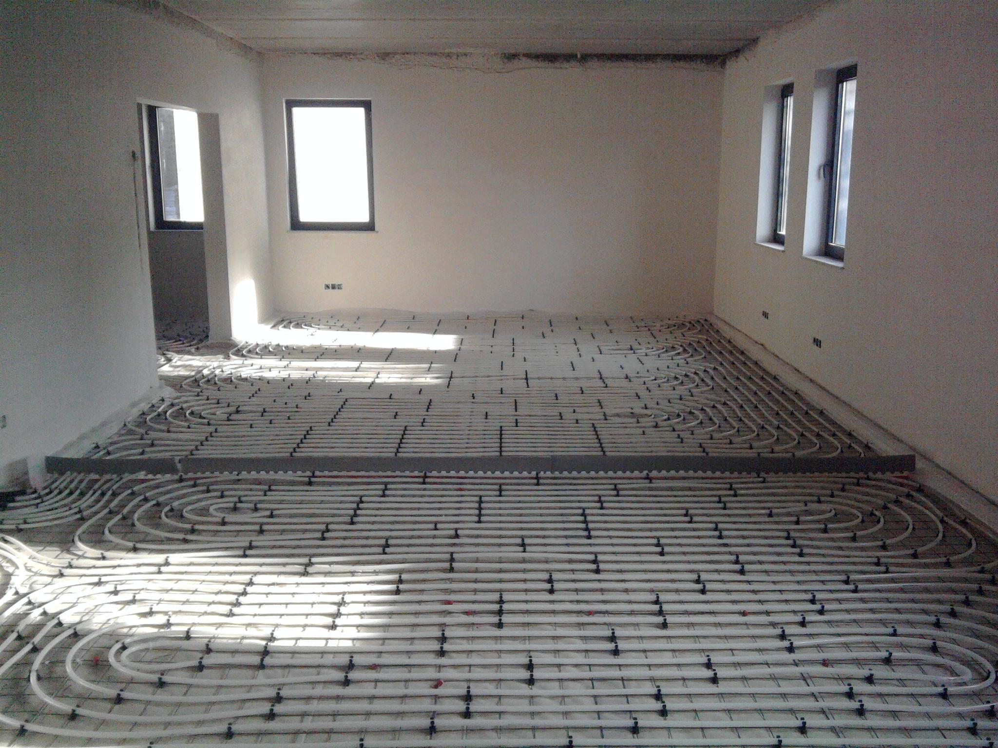 Gilletsprl chauffage chauffage par le sol for Chauffage par le plafond
